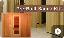 Quick Assemble Pre-Built Sauna Kits