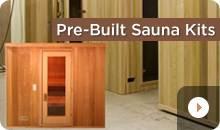 Quick Assemble Pre-Built Sauna Kits