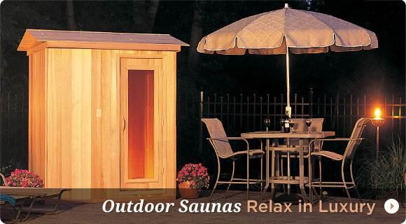 Buy Outdoor Saunas for Sale