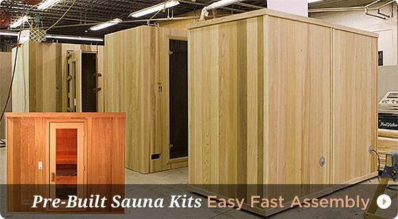 Home Saunas for Sale | Sauna Kits
