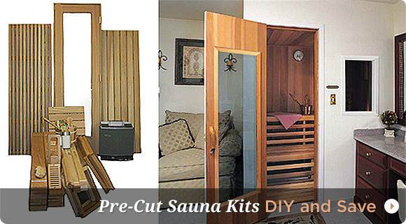 Traditional Rock Saunas for Sale