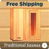 Traditional Hot Rock Steam Saunas