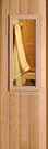 Cedar Sauna Door 1