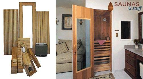 Pre-Cut Home Sauna Kits
