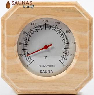 Sauna Wall Thermometer