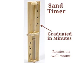 Sauna Sand Timers
