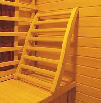 Movable Sauna Backrest