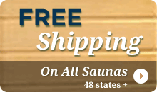 Free Sauna Shipping 48 States