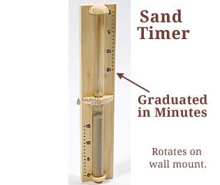 Sauna Sand Timers